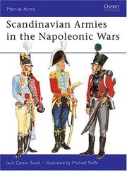 Cover of: Scandinavian Armies in the Napoleonic Wars by Jack Cassin-Scott