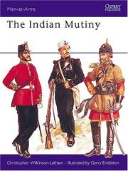 Cover of: The Indian mutiny | Christopher Wilkinson-Latham