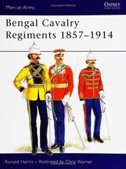 Cover of: Bengal cavalry regiments, 1857-1914 by R. G. Harris