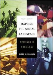 Cover of: Mapping the Social Landscape | Susan J Ferguson