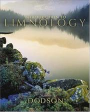 Cover of: Introduction to Limnology | Stanley Dodson