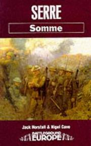 Cover of: Serre by Jack Horsfall