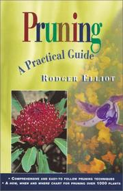 Cover of: Pruning by W. Rodger Elliot
