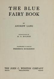 Cover of: The Blue Fairy Book by Andrew Lang