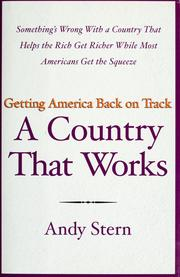 Cover of: A country that works | Andy Stern