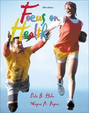 Cover of: Focus in Health by Dale Hahn, Dale B. Hahn