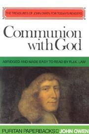 Cover of: Communion With God by John Owen