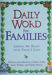 Cover of: Daily word for families | Colleen Zuck