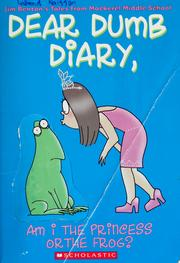 Cover of: Am I the Princess or the Frog? (Dear Dumb Diary #3) | Jamie Kelly