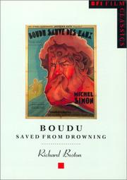 Cover of: Boudu saved from drowning = | Richard Boston