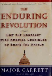 Cover of: The enduring revolution | Major Garrett