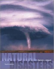 Cover of: Natural Disasters w/bind in OLC card | Patrick Leon Abbott
