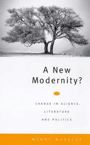 Cover of: A new modernity? | Wendy Wheeler