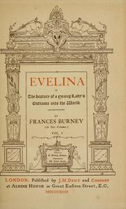 Cover of: Evelina by Fanny Burney