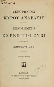 Cover of: Anabasis | Xenophon
