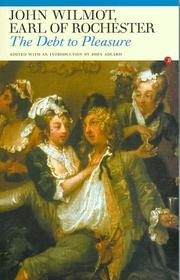 Cover of: The Debt to Pleasure (Fyfield Books) | John Wilmot, Earl of Rochester