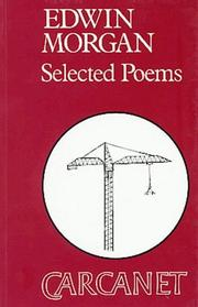 Cover of: Poems | Edwin Morgan