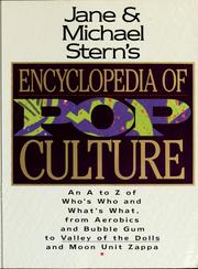 Cover of: Jane & Michael Stern's encyclopedia of pop culture | Jane Stern