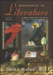 Cover of: Responding to Literature | Judith Stanford