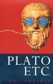Cover of: Plato etc by Roy Bhaskar