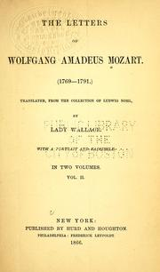 Cover of: Mozart | Wolfgang Amadeus Mozart