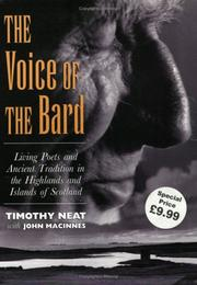 Cover of: The voice of the bard by Timothy Neat