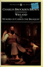 Cover of: Wieland | Charles Brockden Brown
