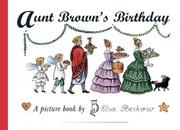 Cover of: Aunt Brown's Birthday (Peter & Lotta) | Elsa Beskow