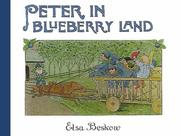 Cover of: Peter in Blueberry Land | Elsa Beskow