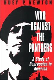 Cover of: War against the Panthers | Huey P. Newton