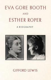 Cover of: Eva Gore-Booth and Esther Roper by Gifford Lewis