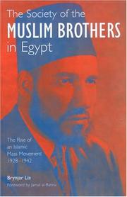 Cover of: The Society of the Muslim Brothers in Egypt | Brynjar Lia