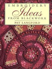 Cover of: Modern Blackwork by Pat Langford
