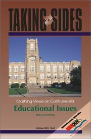 Cover of: Taking Sides by James Wm. Noll