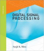 Cover of: Digital Signal Processing | Sanjit K Mitra