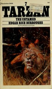 Cover of: Tarzan the Untamed by Edgar Rice Burroughs