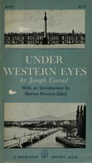 Cover of: Under western eyes | Joseph Conrad