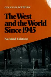 The West and the world since 1945