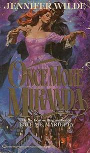 Cover of: Once More Miranda by Jennifer Wilde