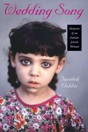 Cover of: Wedding song | Farideh Goldin
