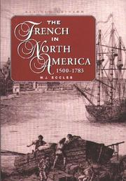 Cover of: The French in North America, 1500-1765 by Eccles, W. J.