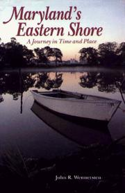 Cover of: Maryland's Eastern Shore | John R. Wennersten