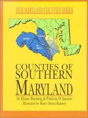 Cover of: Counties of Southern Maryland | Elaine Bunting