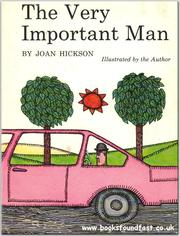 Cover of: The very important man by Joan Hickson