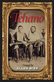 Cover of: Tehano by Allen Wier