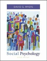 Cover of: Social Psychology with SocialSense Student CD-ROM | David G. Myers