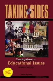 Cover of: Taking Sides: Clashing Views on Educational Issues, Expanded (Taking Sides: Clashing Views on Controversial Educational Issues) by James Wm. Noll