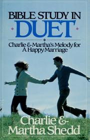 Cover of: Bible study in duet | Charlie W. Shedd