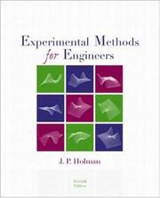 Cover of: Experimental Methods for Engineers (McGraw-Hill Mechanical Engineering) by Jack P. Holman