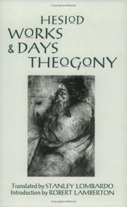 Cover of: The Works And Days And Theogony | Hesiod